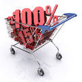 Shopping Cart (100% OFF) Royalty Free Stock Photography