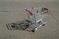 Shopping Cart Empty Royalty Free Stock Photos
