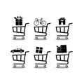 Shopping cart Icon Vector. Shopping cart Icon JPEG.