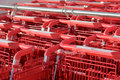 Shopping cart rhythm Stock Photos