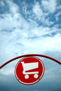 Shopping Cart Sign Royalty Free Stock Photo