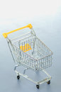 Shopping cart, trolly Royalty Free Stock Photo