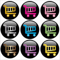 Shopping Cart Web Buttons Royalty Free Stock Photo