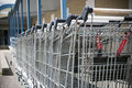 Shopping Carts Royalty Free Stock Photo