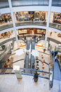 Shopping center interior Royalty Free Stock Images