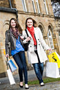 Shopping in the city Royalty Free Stock Images