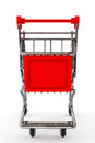 Shopping Concept. Shopping Cart Royalty Free Stock Photo