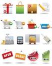 Nakupování a konzumerismus ikona pojistné