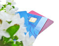 Shopping credit card Royalty Free Stock Images