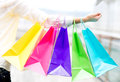 Shopping with debit card Royalty Free Stock Image