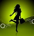Shopping icon illustration Royalty Free Stock Photography