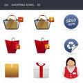 Shopping icons _02 Stock Photo