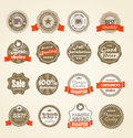 Shopping labels collection Stock Photography
