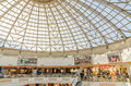 Shopping mall inside bucharest romania june plaza romania on june in bucharest romania the building is based on an uncompleted Royalty Free Stock Image