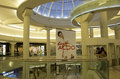 Shopping mall interior nice with clean designs in vancouver bc canada Stock Photography