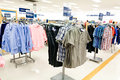 Shopping: Men's Department Royalty Free Stock Photo
