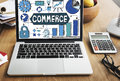 Shopping Online Consumerism Connection Sale Concept Royalty Free Stock Photo
