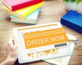 Shopping Online Order Purchase Buying Concept Royalty Free Stock Photo