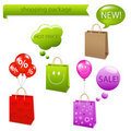 Shopping Package. Vector Stock Photography