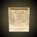 Shopping paper bag vector illustration of Royalty Free Stock Photo