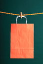 Shopping paper gift bags Stock Photography