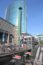 Shopping in rotterdam netherlands april the city on april Royalty Free Stock Photo