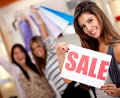 Shopping on sale Royalty Free Stock Images
