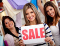 Shopping on sale Stock Images