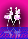 Shopping sale Royalty Free Stock Photo