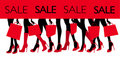 Shopping sale image Stock Images