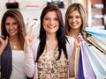 Shopping sales Royalty Free Stock Image