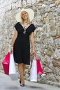 Shopping With Style Royalty Free Stock Photo