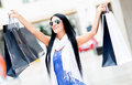 Shopping summer sales Royalty Free Stock Images
