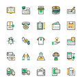 Shopping Vector Icons 3 Royalty Free Stock Photo