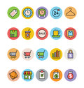 Shopping Vector Icons 2 Royalty Free Stock Photo