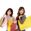 Shopping women Royalty Free Stock Photography