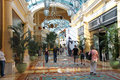 Shops in caesar s palace in las vegas nevada usa october hotel opened and has a roman empire theme Stock Images