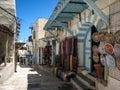 Shops in the medina. Sousse. Tunisia Royalty Free Stock Photo