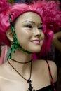 Shopwindow doll gothic, lolita, emo Royalty Free Stock Photography