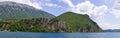 Shore of Ohrid lake, Macedonia Royalty Free Stock Photo