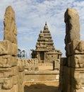 Shore Temple - Mamallapuram - Tamil Nadu - India Royalty Free Stock Photo