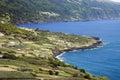 Shoreline of Pico Island Royalty Free Stock Photo