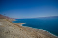 Shores of Dead Sea Stock Photo