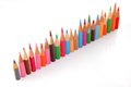Short pencils Royalty Free Stock Photography