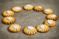 Shortbread biscuits Royalty Free Stock Photo