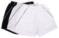 Shorts on White Stock Image