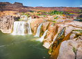 Shoshone falls idaho Royalty Free Stock Photo