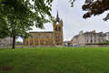 Shot of a church tower in perth scotland Stock Photo