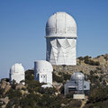 A Shot of Kitt Peak National Observatory Royalty Free Stock Photo