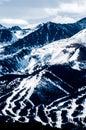 Shot my trip to keystone colorado beautiful view slopes Royalty Free Stock Photo